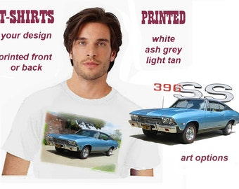 Custom Car T-Shirt from YOUR Photo or Art Developed