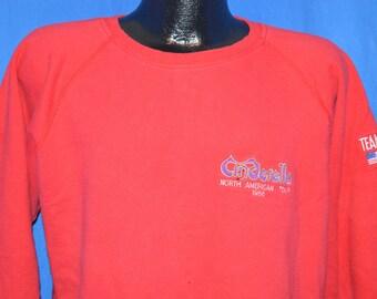 80s Cinderella North American Tour 1988 Sweatshirt Medium