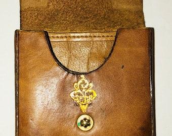 Vintage leather pouches wallet