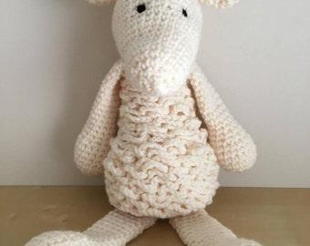 Crochet Animal - Lamb