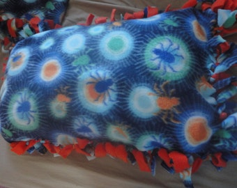 CUSTOM-Tied Fleece Pillow- Any Size and Shape w/ Free Shipping -Black Friday/Cyber Monday SALE!!!