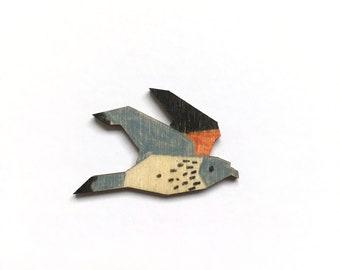 Kestrel pin