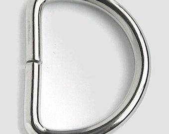 """100 D Rings - 1"""" (25mm)"""