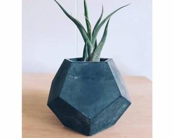 Geometric Concrete Planter