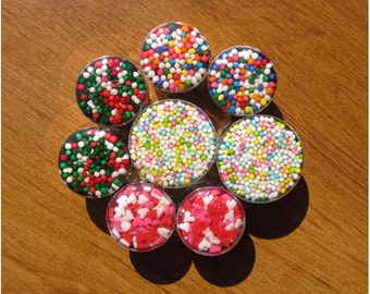 BIG Sprinkle Candy Plugs - 28mm, 32mm, 34mm, 35mm, 36mm, 38mm, 42mm, 45mm, 48mm, 51mm