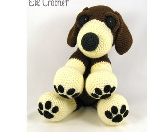 Crochet Amigurumi Beagle Dog