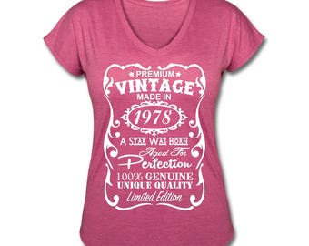40th Birthday Gift for Woman 40th Birthday Shirt 1978 Shirt