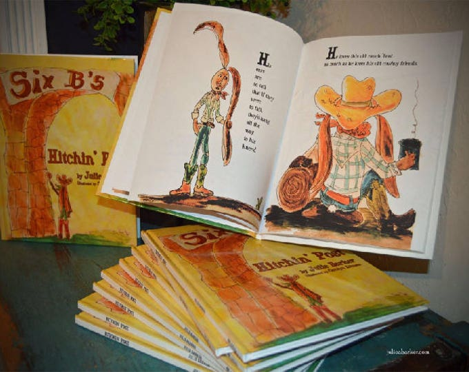 Hitchin' Post children's book