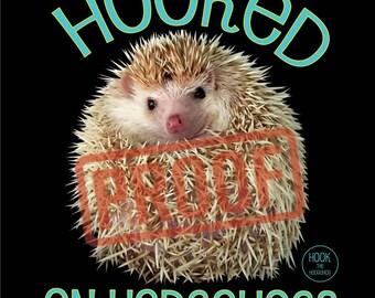 Hooked on Hedgehogs Print