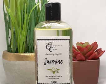Jasmine Body Oil, Hair Oil