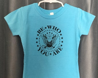 Be Who You Are Eagle Logo Kids' T-shirt