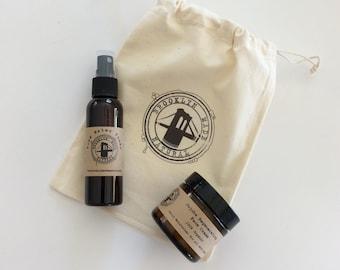 June Gift Set - rose water toner - face cream - face serum - eye serum - anti aging cream - rose water