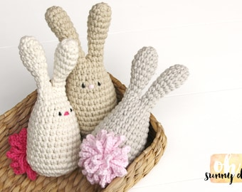 Big Tail Bunny - soft rattle toy