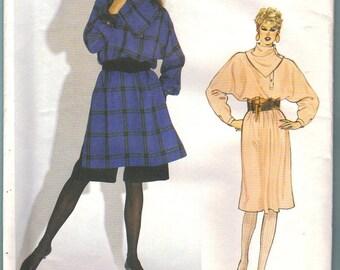 Vogue Paris Original 1085 Guy Laroche Dress Tunic Shorts Sewing Pattern Misses Size 10 Vintage UNCUT
