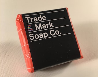 Natural Handmade Bar Soap (Ruby Grapefruit)