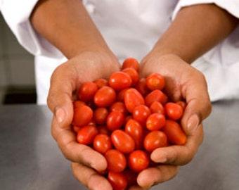 VTC) SUGAR PLUM Grape Tomato~Seeds!!!!!!~~~~~~The Smallest of the Cherries!