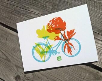 Carococo/Promenade du dimanche/ carte souhait 5x7 par Carol-Anne Pedneault