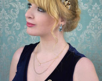 Feather Headband in Natural Partridge Feathers | Feather Fascinator | Feather Headpiece | Bridal Headpiece | Bridesmaid Headpiece