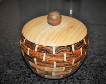 Hand-Turned Segmented Bowl