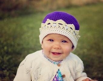 Crown Hat Crochet Pattern