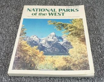 National Parks Of The West The Nations Finest Scenery By Dorothy Krell C. 1980
