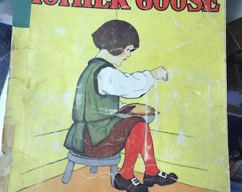 Favorites from Mother Goose Jack Horner ,children book, 1916 Nursery Rhyme bedtime story Humpty Dumpty