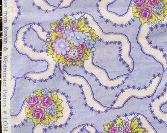 Kaffe Fassett Lille collection Nosegay periwinkle FQ oop htf