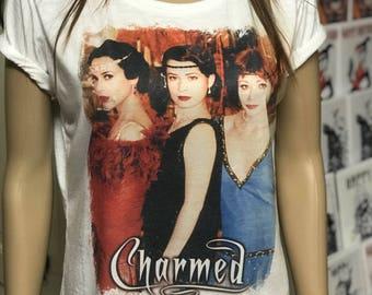 Charmed T shirt, custom made. Men's and women's . All sizes