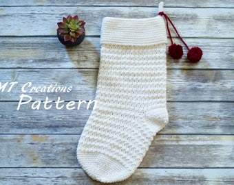 Laurel Stockiing - Crochet Pattern