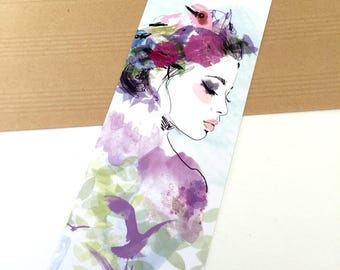 Bookmark - Illustration Profile boheme
