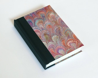 "Sketchbook 4x6"" with motifs of marbled papers - 29"