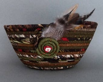 Coiled Basket, Harvest Time