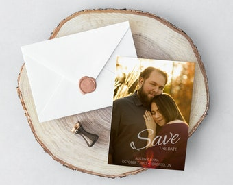 Save the Date Invitation & Announcements Digital File - Print Your Own!