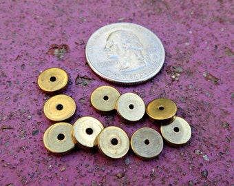8mm x 2mm Solid Brass spacers (500 pieces)
