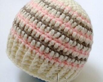 Crochet pattern - Baby girl or boy crochet hat pattern! Beanie crochet pattern. Permission to sell finished items. Pattern No. 146
