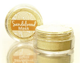 Face Mask Sample with Sandalwood, Sandalwood Mask, Face Mask, Facial Mask, Gram Flour Mask, Tightening Mask, Purifying Mask, Acne Mask