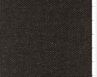 Ebony Black Chenille Home Decorating Fabric, Fabric By The Yard