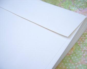 A7 Envelopes - White or Natural Color - Quantity 20
