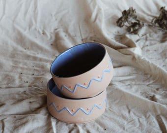 Vintage Clay Bowls (Set of 2)