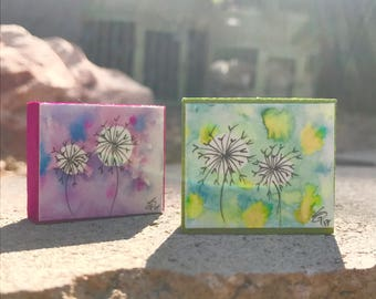 "Mini ""Make a Wish"" Watercolor Art Block"