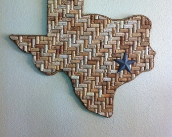 Huge Texas Wine Cork Art (or any state)