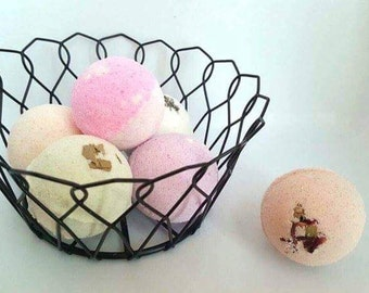 Bath Bomb Fizzy Handmade Choose Scents Two for Five Dollars