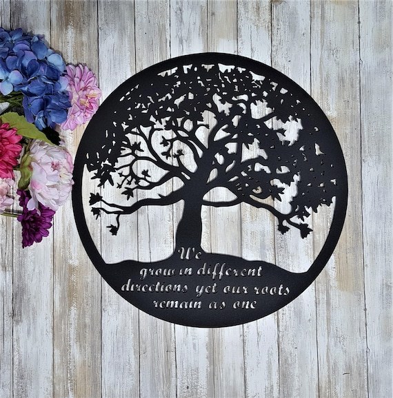 Charming Metal Tree Of Life Wall Art Outdoor Metal Tree Art Outdoor
