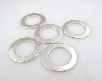 5PK STERLiNG WASHERS 22 Gauge, 3/4""