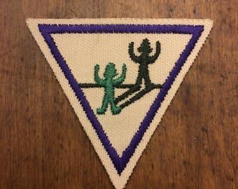 1989 Vintage Girl Scout Badge