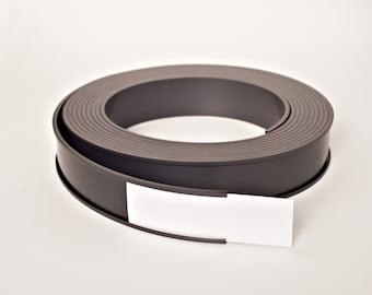 "2.16"" x 25' Roll Magnetic Data Cardholder C-Channel - Shelf Labels"