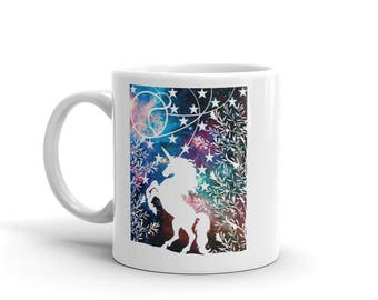 Unicorn Cup Gift - Unicorn Mug Gift - Unicorn Coffee Gift - Mug With Unicorn - Sister Mug Gifts - Unicorn Theme Gift - Ill Friend Gift
