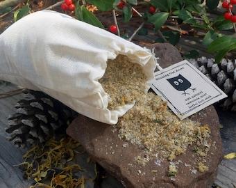 Herbal Foot Soak, Calendula Mint Foot Bath, Natural Foot Treatment, Therapeutic Foot Spa, Dry Skin Foot Rescue, Foot Soak with Aloe