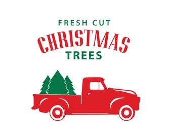 Vers gesneden kerst bomen DIY sticker voor houten DB418