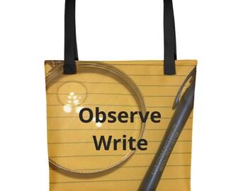 Writer's Tote bag